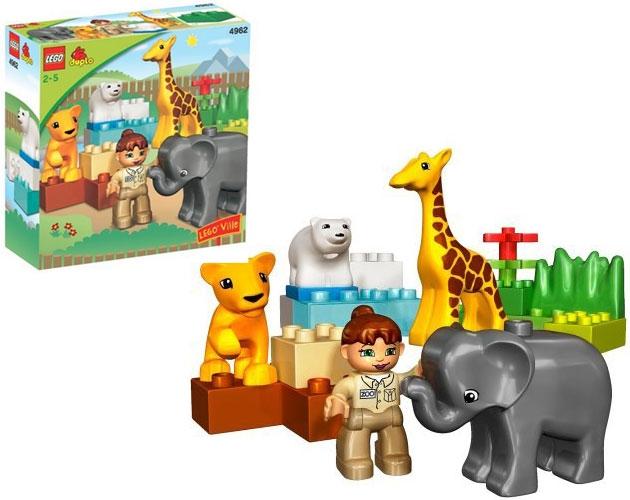 成都海淘LEGO乐高小动物园4962