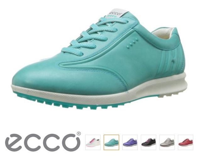 成都海淘ECCO 爱步 女士高尔夫休闲鞋