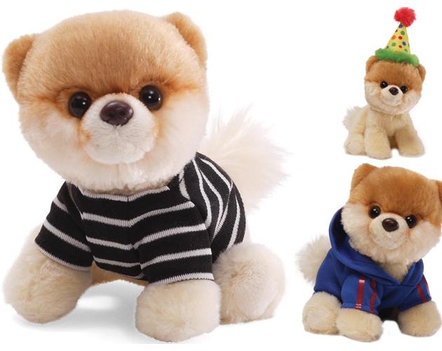 成都海淘风靡全球的俊介英系博美狗狗玩偶