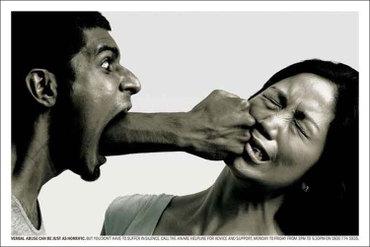 新加坡的公益广告 语言暴力