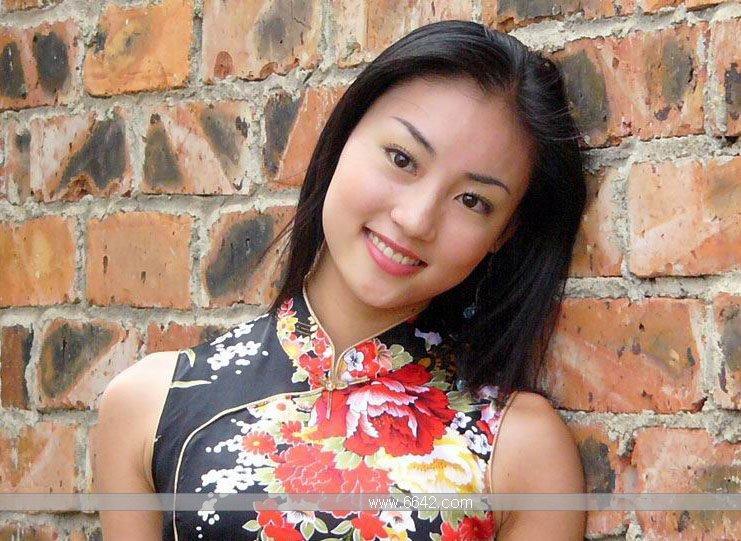 中国旗袍美女